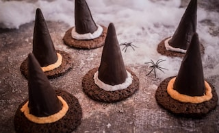 Cappelli di strega: la ricetta dei dolcetti di Halloween al cioccolato
