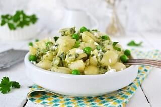 Pasta con ricotta e piselli: la ricetta del primo piatto semplice e cremoso