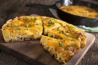 Frittata di funghi: la ricetta del secondo piatto veloce e saporito