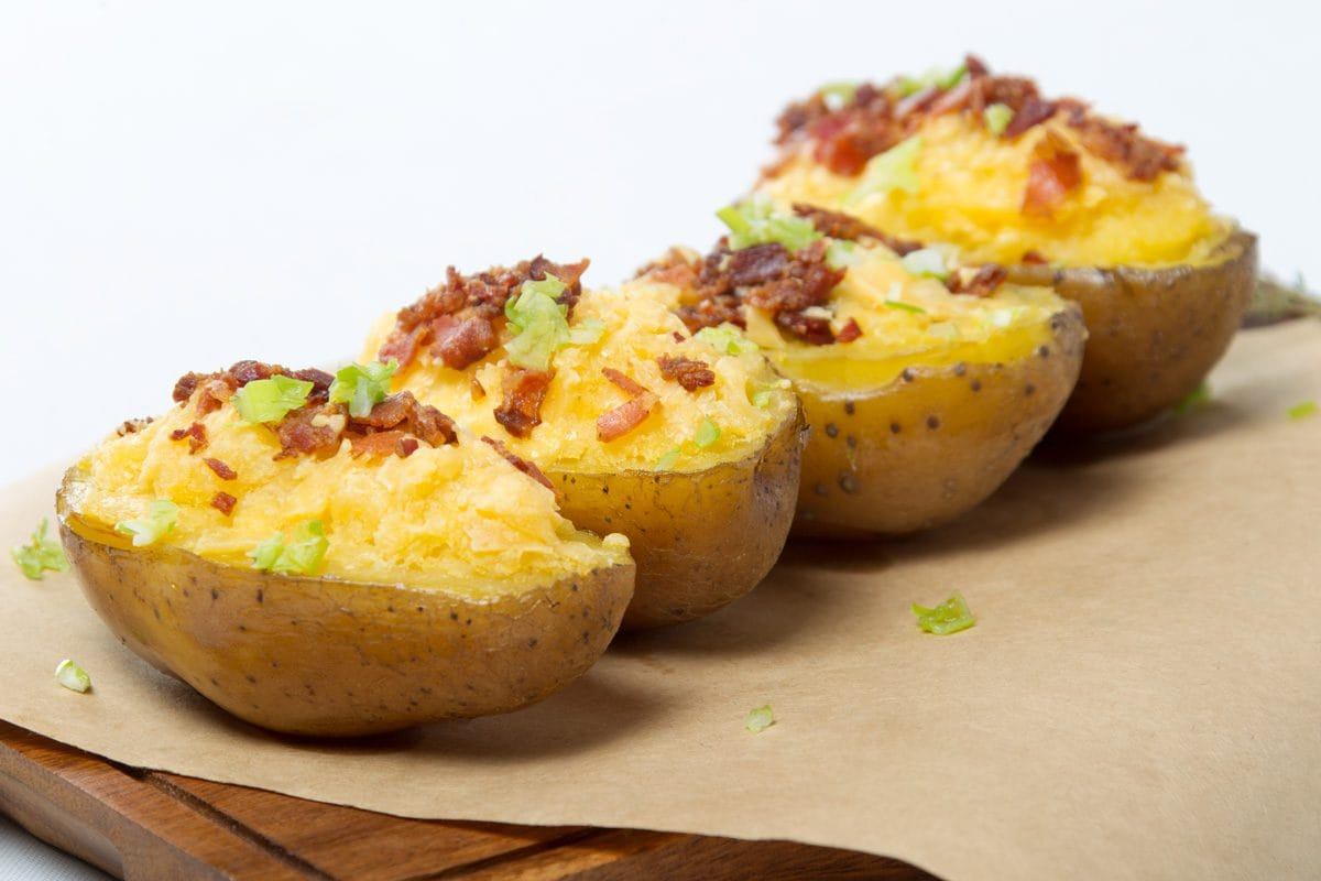 cheese potato bacon