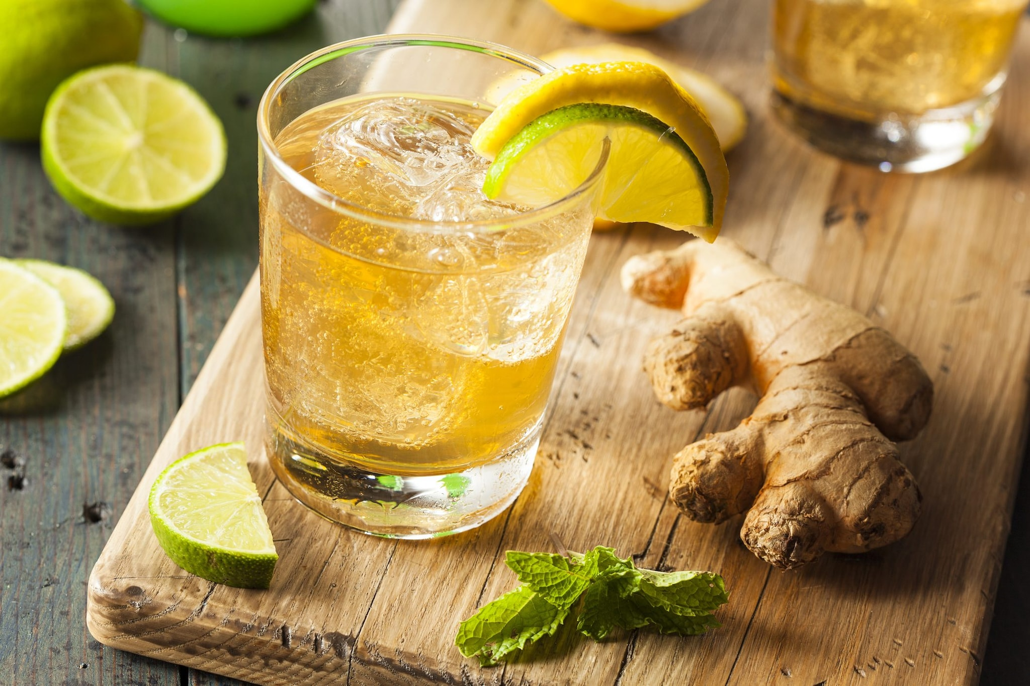 water-ginger-lemon