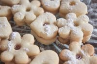 German Christmas Cookies.Spitzbuben The Traditional German Christmas Cookies