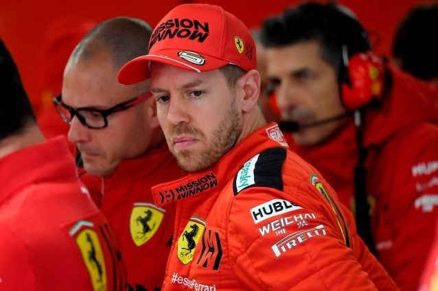Sebastian Vettel, 32 anni / Getty