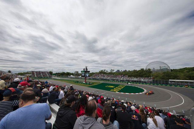 Il circuito semi–cittadino di Montreal intitolato a Gilles Villeneuve, sede del GP del Canada di Formula 1 / Getty