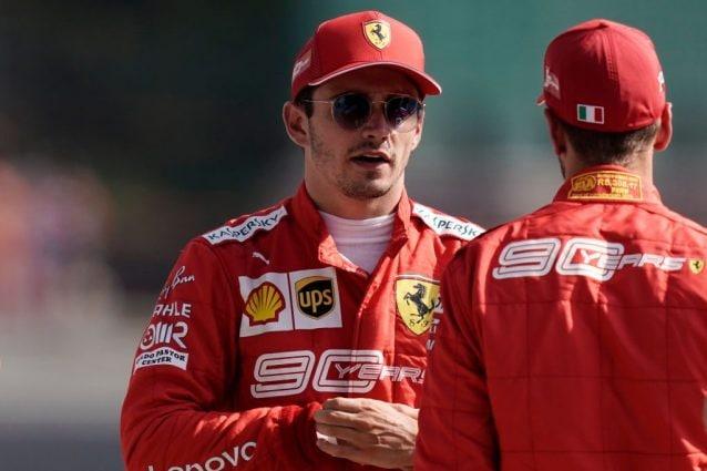 I piloti Ferrari Charles Leclerc, 22 anni, e Sebastian Vettel 32 / Getty