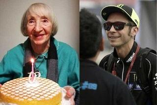 Coronavirus, nonna ultracentenaria guarita dal Covid-19 ora sogna di conoscere Valentino Rossi