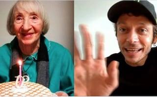Valentino Rossi realizza il sogno di nonna Lina guarita dal Coronavirus a 102 anni