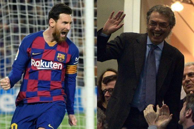 Lionel Messi all'Inter, Massimo Moratti: Non è un sogno proibito
