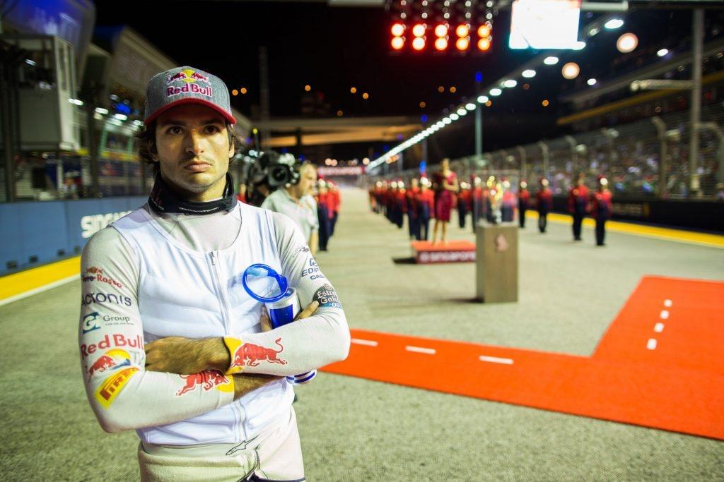 Tre stagioni con la Toro Rosso per Sainz.