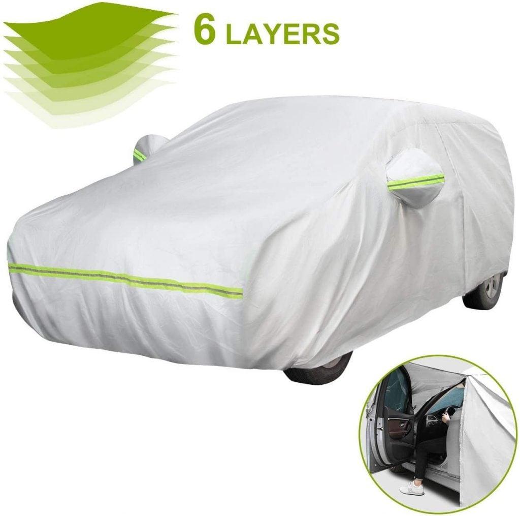 Telo Copriauto Funziona con la Citroen C5 AIRCROSS Copertura per Auto//Car Cover Protezione Contro Le intemperie Impermeabile da Pioggia Polvere Vento Sole UV