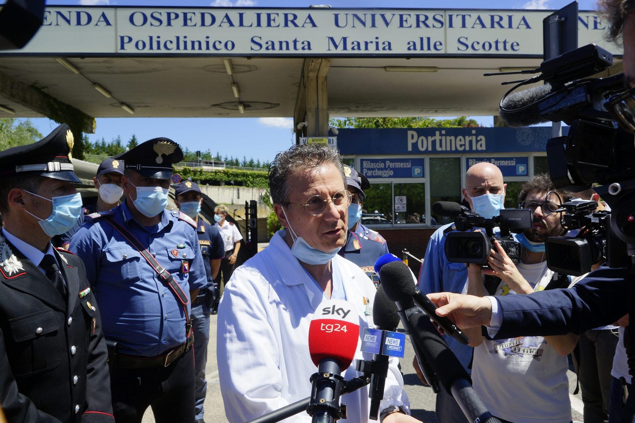 Sabino Scolletta, direttore del Dipartimento Emergenza Urgenza dell'Aou senese