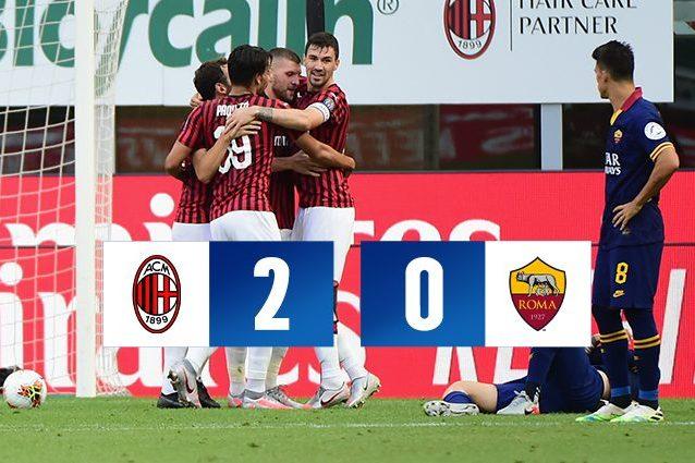 Milan Roma 2 0 Serie A 2019 2020
