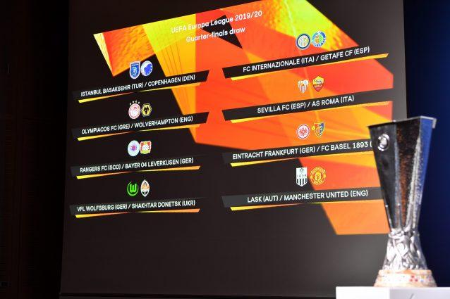 Sorteggio Europa League: il tabellone con Inter e Roma
