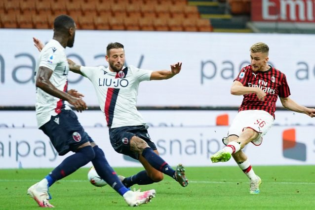 Milan Bologna 5 1 Serie A 2019 2020