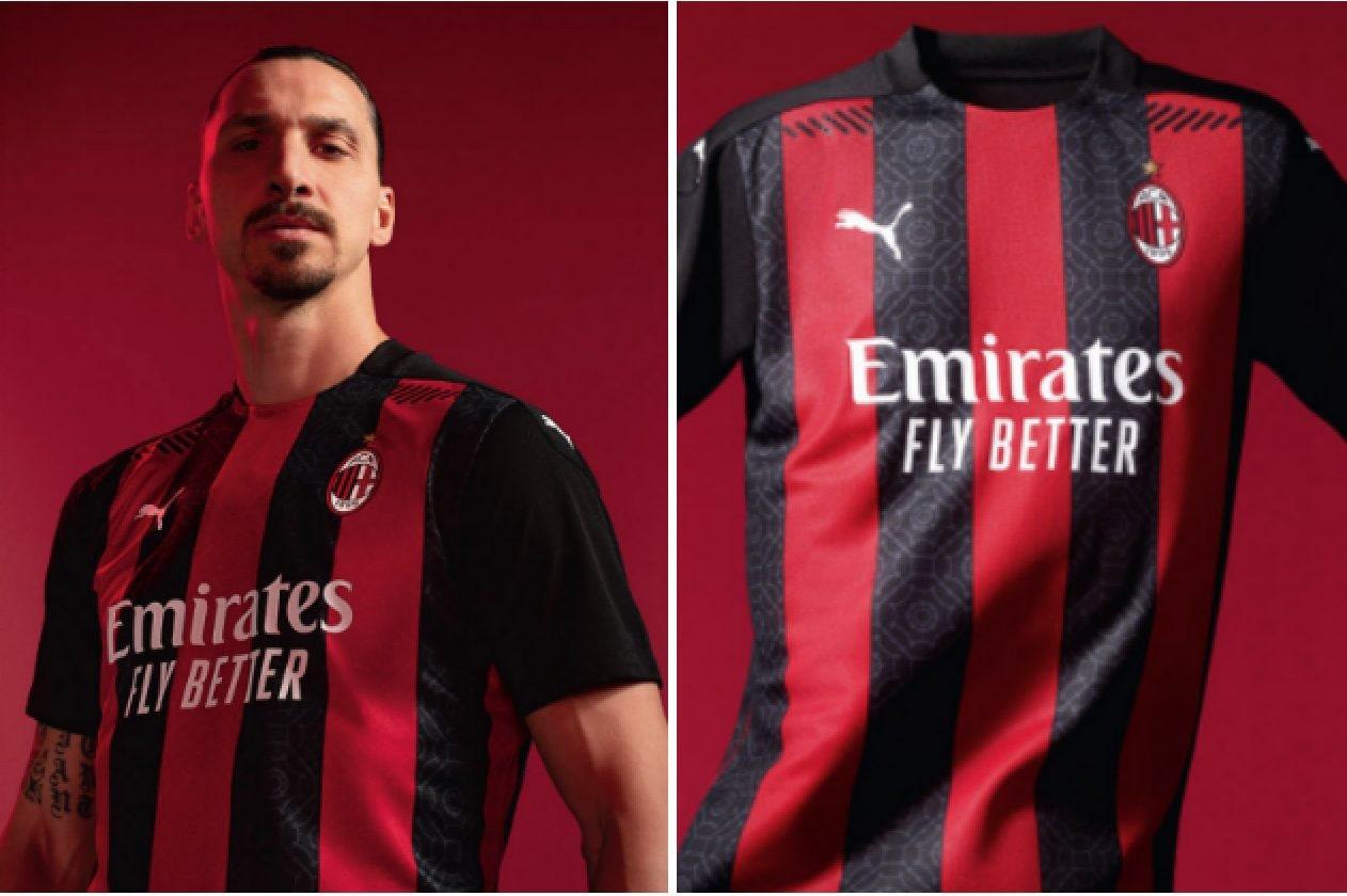 Milan, Zlatan Ibrahimovic testimonial della nuova maglia del Milan ...