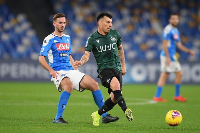 Bologna Napoli Serie 19 30 dove vedere partita streaming DAZN