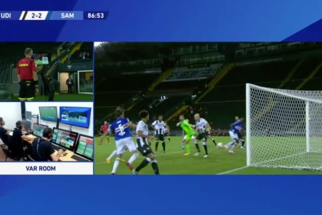 Serie A Risultati Finali 32a Giornata Colpo Samp A Udine Fiorentina Verona 1 1 Parma Bologna 2 2