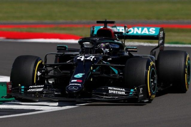 Gp Gran Bretagna, pole Hamilton
