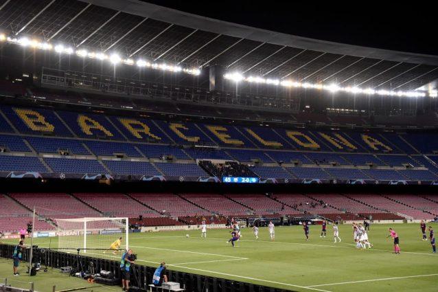 Barcellona, un giocatore positivo. 'Ma la Champions non è a rischio'