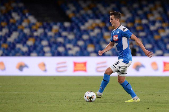 Mercato Napoli 23 Settembre Milik Nel Mirino Del Tottenham Vecino Per Il Dopo Allan