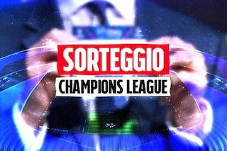 Sorteggio gironi Champions League: Inter col Real Madrid, Juventus con il Chelsea, Milan con Liverpool e Atletico