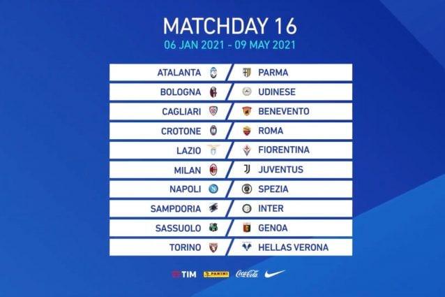 Calendario Serie A 2020 21 Il Sorteggio In Diretta Tutte Le Giornate