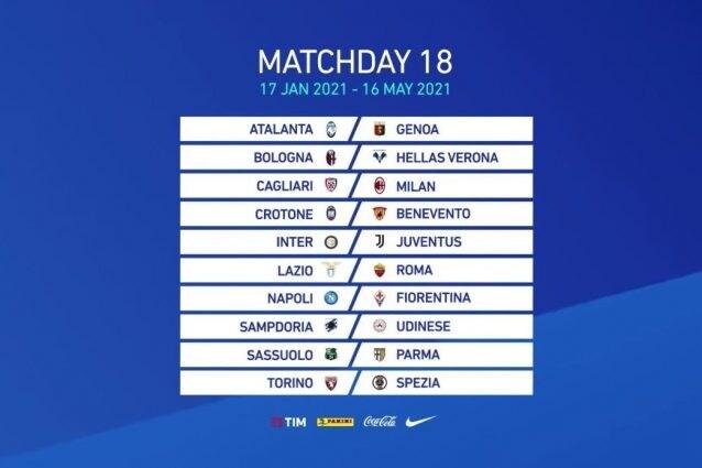 Calendario Serie A 2020/21, il sorteggio in diretta: tutte le giornate