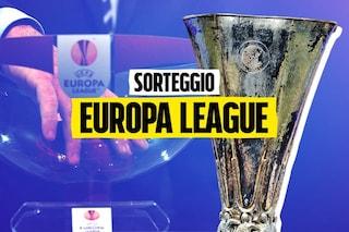 Europa e Conference League il sorteggio dei gironi per Napoli, Lazio e Roma
