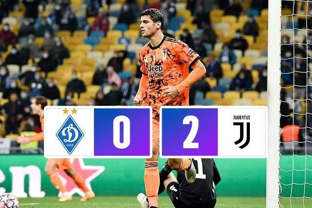 dinamo kiev juventus 0 2 champions league 2020 2021 dinamo kiev juventus 0 2 champions