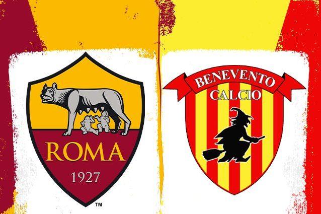 La Roma dilaga nel finale, battuto il Benevento 5-2