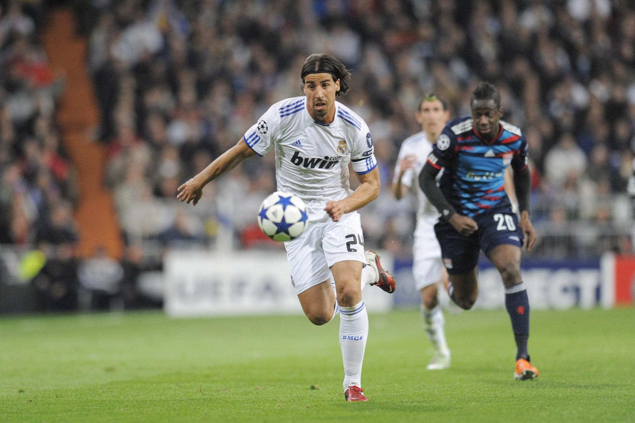Sami Khedira ai tempi del Real Madrid
