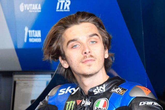 Moto2, guizzo Martin. Bastianini leader. Ahi Di Giannantonio: cade all'ultimo giro, era primo