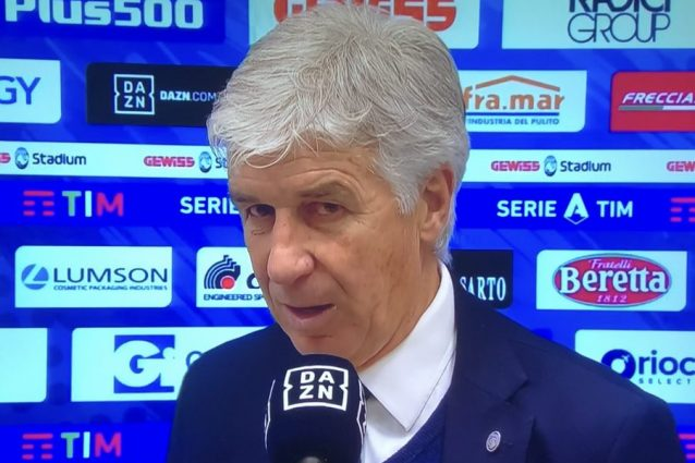 Atalanta ko con il Verona, Gasperini: