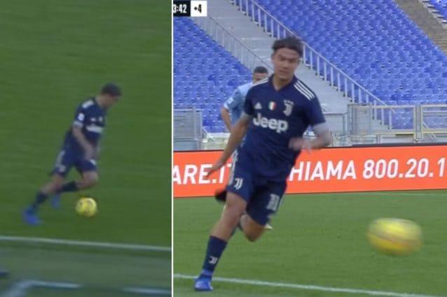Paulo Dybala decisivo in negativo con 18 minuti da dimenticare in Lazio-Juve