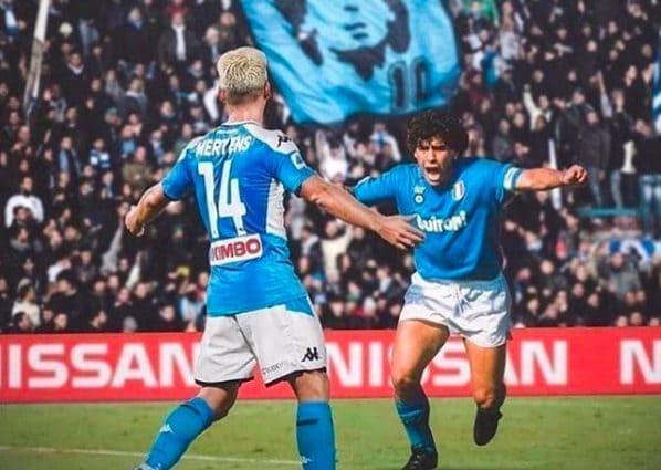 Mertens si scusa con Maradona: