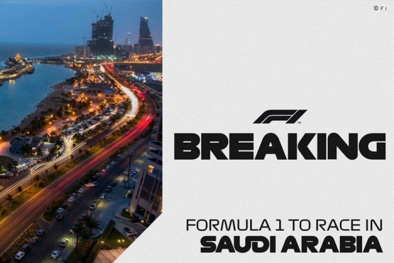 Formula 1, ufficiale: il GP dell'Arabia Saudita nel calendario del