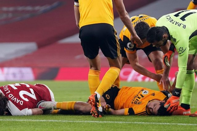 Premier League, il VIDEO dell'infortunio shock di RAUL JIMENEZ in Arsenal-Wolves