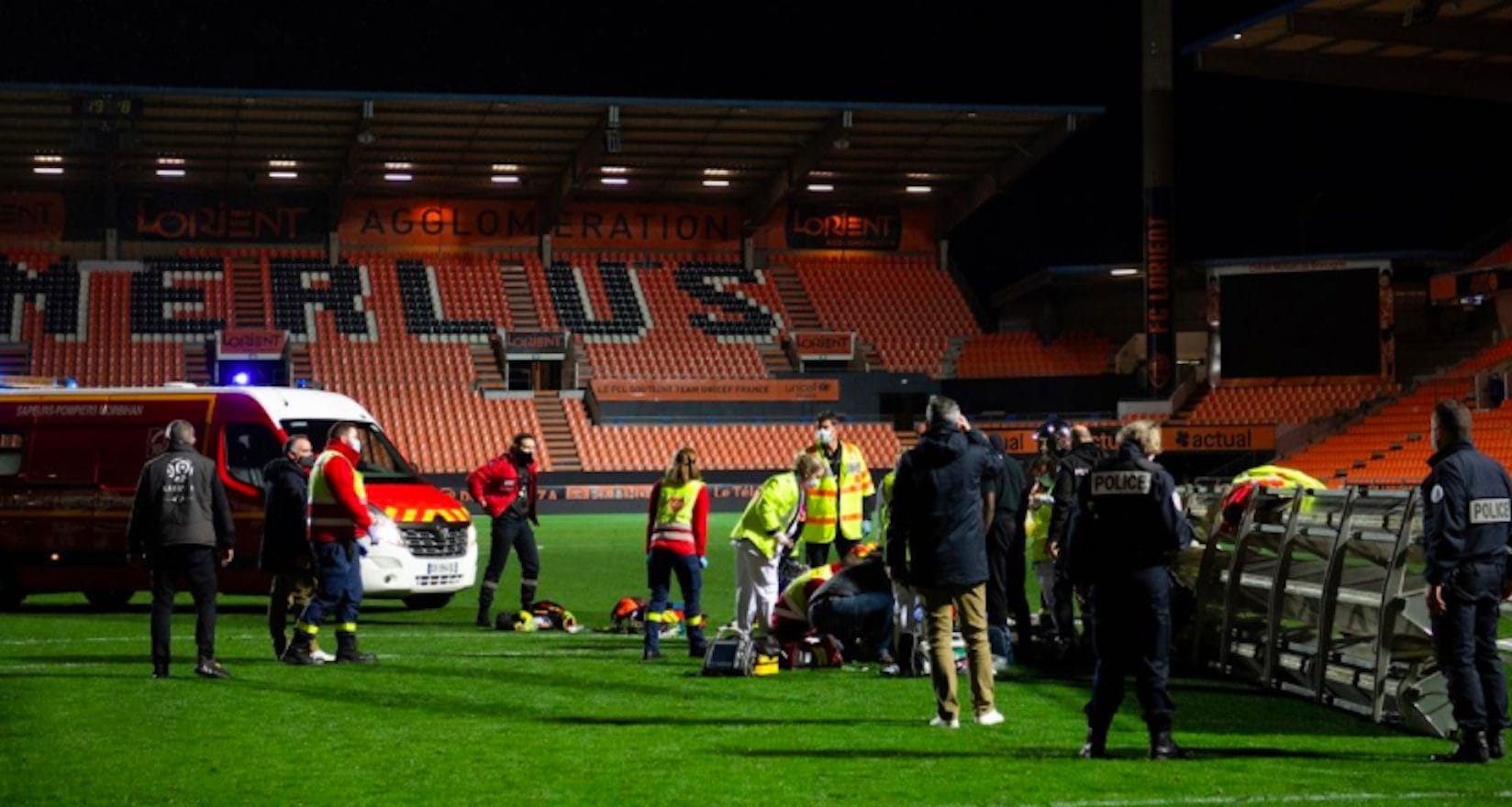 Si staccano i riflettori allo stadio: muore giardiniere a Lorient