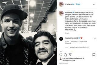 Il post di Cristiano Ronaldo su Maradona è stato il più virale del 2020