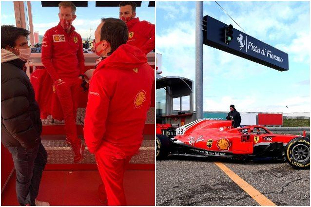 F1, primi giri in Ferrari per Sainz: 'Giornata indimenticabile'