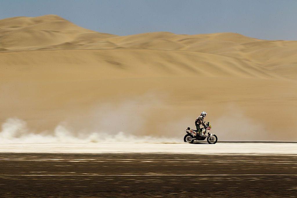 Pierre Cherpin in occasione durante la Dakar 2021