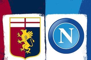 Genoa-Napoli dove vederla in diretta TV su Sky o DAZN: canale, streaming e formazioni
