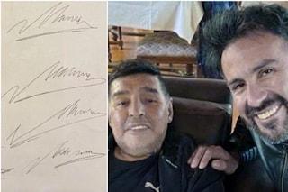 Morte Maradona, il giallo della firma falsificata dal medico