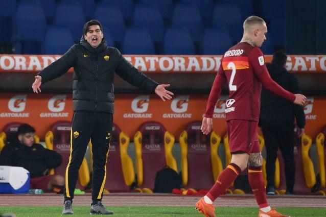 Coppa Italia, in campo Roma-Spezia 0-2 DIRETTA