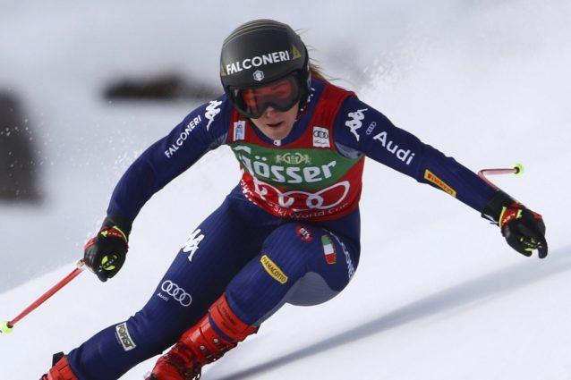 Sci: cdm; podio Italia, Bassino seconda in superg St.Anton