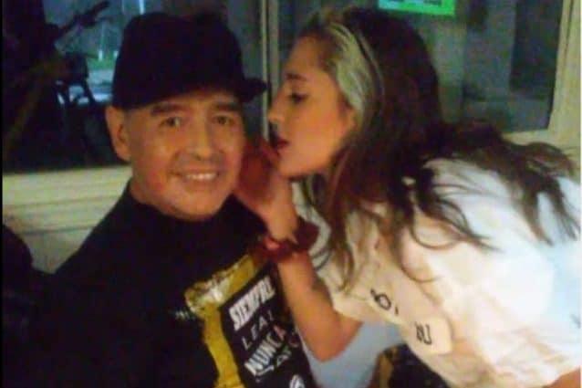 Jana Maradona, la figlia nata dalla relazione con Veronica Sabalain