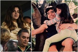 """Giannina Maradona: """"Di chi è la colpa se mi suicido? Papà, proteggimi da lassù"""""""