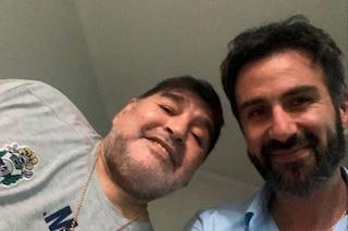 """Il messaggio dello psicologo di Maradona: """"L'ho visto tremare, ma teniamolo segreto"""""""