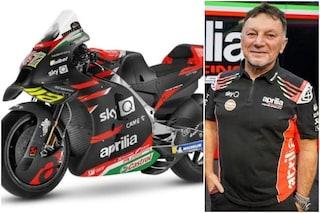 L'Aprilia presenta le moto per la MotoGP 2021 nel ricordo di Fausto Gresini