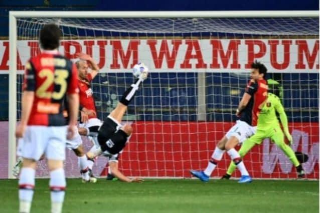 Pellé, gol in rovesciata pazzesco. L'ultimo in Serie A risaliva a 10 anni fa